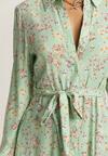 Jasnozielona Sukienka Nautirenna