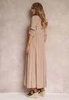 Beżowa Sukienka Hillcrest