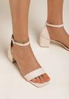 Beżowe Sandały Pethertes