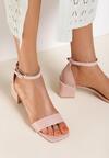 Różowe Sandały Pethertes