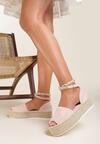 Różowe Sandały Praxaxaura