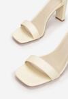 Żółte Sandały Synertise
