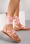 Różowe Sandały Pethalise