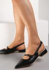 Czarne Sandały Cnassixia