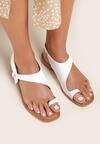 Białe Sandały Mystalise