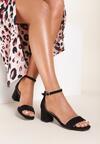 Czarne Sandały Leucassa