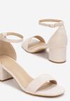 Beżowe Sandały Leucassa