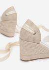 Białe Sandały Orphiphise