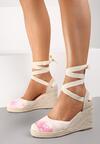 Różowe Sandały Orphiphise