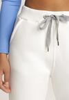 Beżowe Spodnie Dresowe Cnassiche
