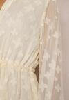Kremowa Sukienka Thosetis