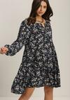 Granatowa Sukienka Acoseusa