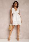 Biała Sukienka Anthithea