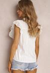 Biała Bluzka Athilacia