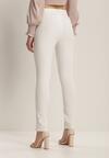 Białe Spodnie Cygaretki Bathusi