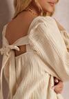 Beżowa Bluzka Harphelia
