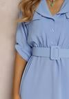 Jasnoniebieska Sukienka Theanose