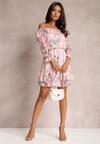 Jasnoróżowa Sukienka Meniphyse