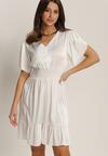 Biała Sukienka Anthenia