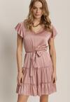 Różowa Sukienka Rhelixia