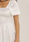 Biała Sukienka Fysersya