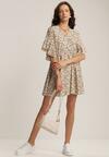 Biała Sukienka Fontamara