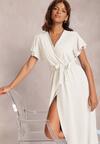 Biała Sukienka Lilysh