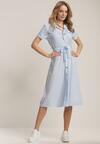 Jasnoniebieska Sukienka Vilinsha