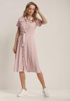 Różowa Sukienka Vilinsha