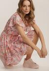Różowa Sukienka Azaertyse