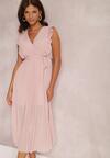 Łososiowa Sukienka Phisoria