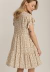 Beżowa Sukienka Wysevera