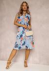 Jasnoniebieska Sukienka Acalephise
