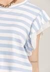Jasnoniebieska Bluzka Azanoe