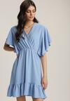 Niebieska Sukienka Clamei