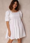 Biała Sukienka Taliciane