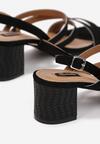 Czarne Sandały Penlisa