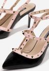 Czarne Sandały Shyaela