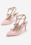 Różowe Sandały Shyaela