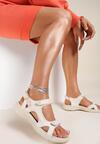 Beżowe Sandały Acakaia