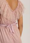 Różowa Sukienka Arrily