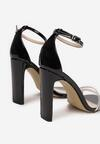 Czarne Sandały Bornilla