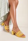 Żółte Klapki Phalipheia