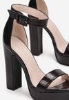 Czarne Sandały Marille