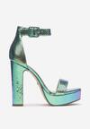 Zielone Sandały Marille