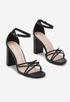 Czarne Sandały Thelanya