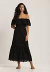 Czarna Sukienka Leumene