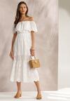 Biała Sukienka Menilophi