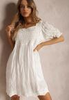 Biała Sukienka Kahlironei
