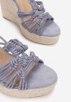 Niebieskie Sandały Silaphine